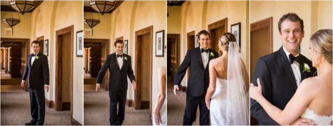 first look on your wedding day