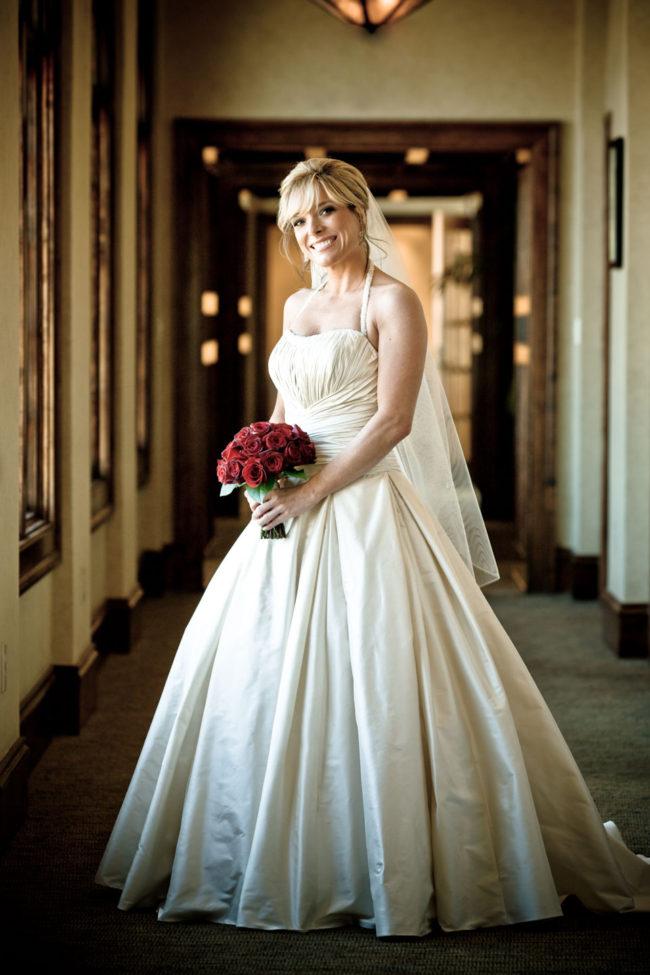 Bridal Portrait at Gettysvue Country Club.