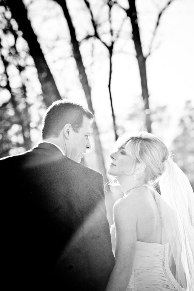 wedding couple at gettysvue country club