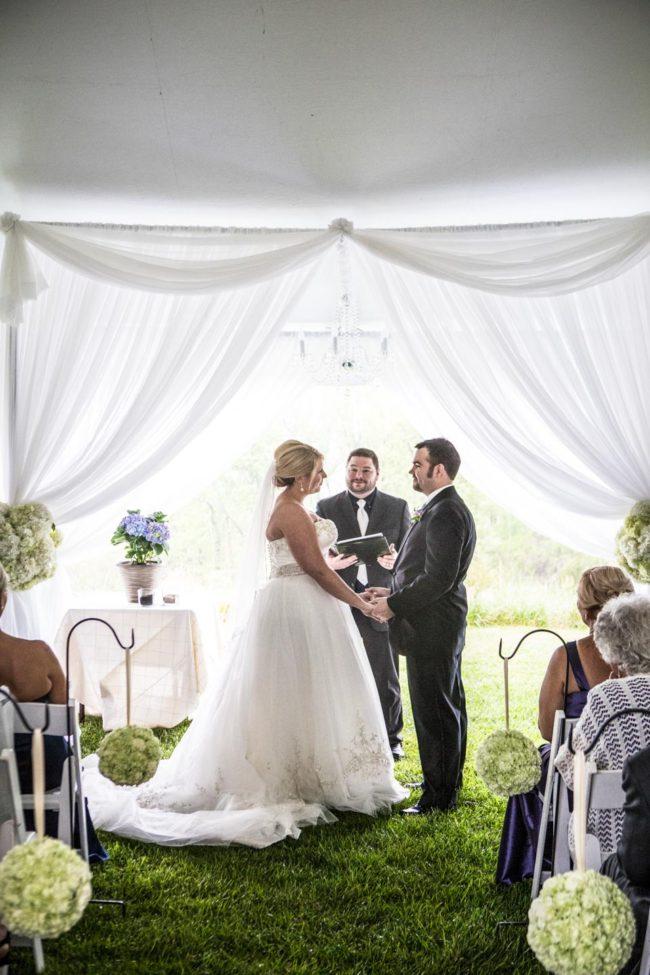 wedding ceremony gettysvue country club